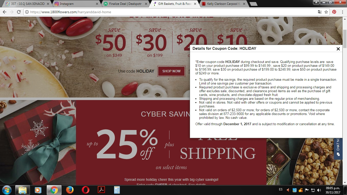 Harry and david coupon codes