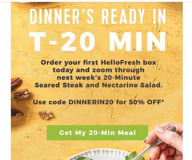 hellofresh 50 coupon