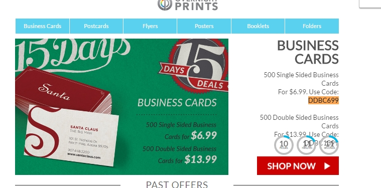 Overnight prints coupon code