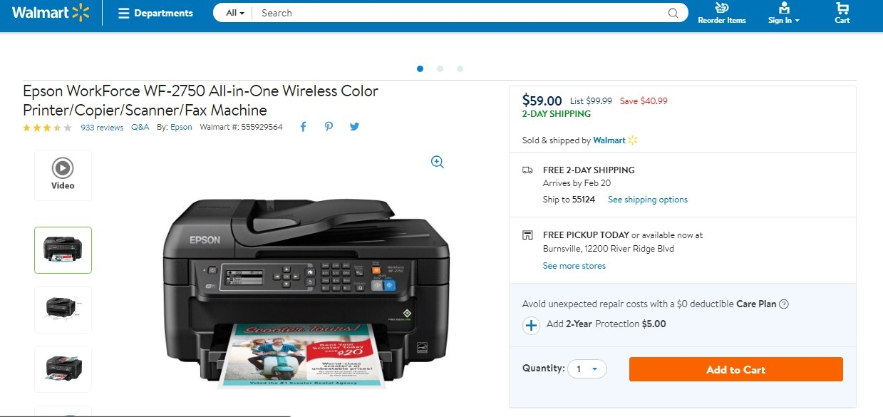 Coupons epson