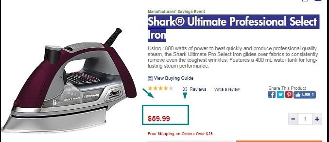Shark vacuum free shipping coupon code