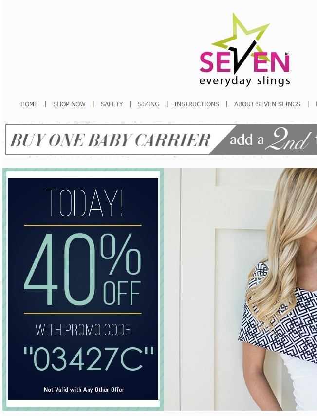 Seven slings coupon 2018