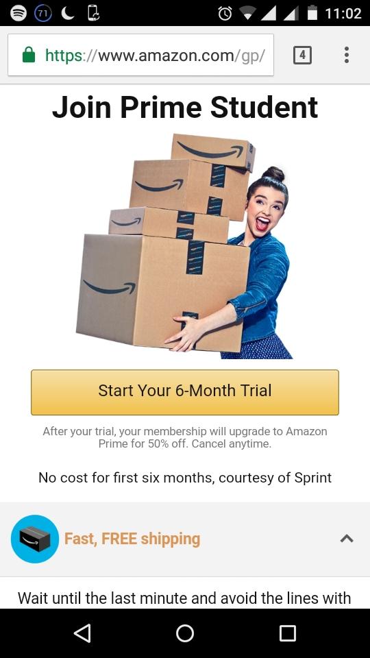 Amazon prime coupon code