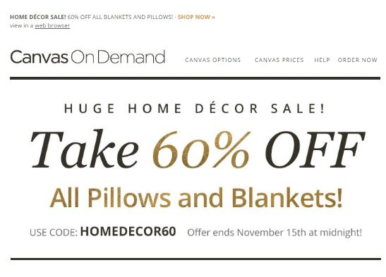 Canvas on demand coupon code