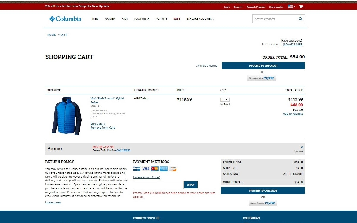 Columbia jackets 50 coupon code