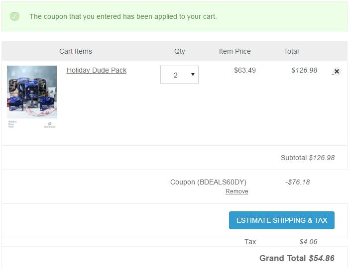Dorco usa coupon code