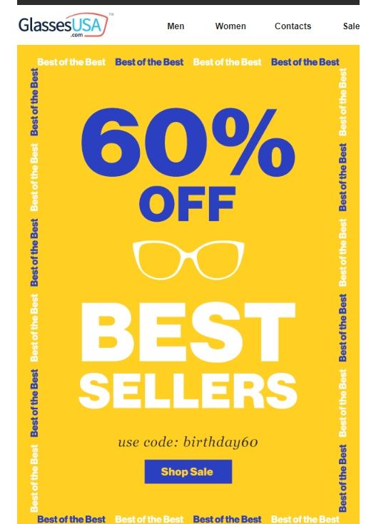 glasses usa discount code