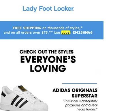Coupon footlocker