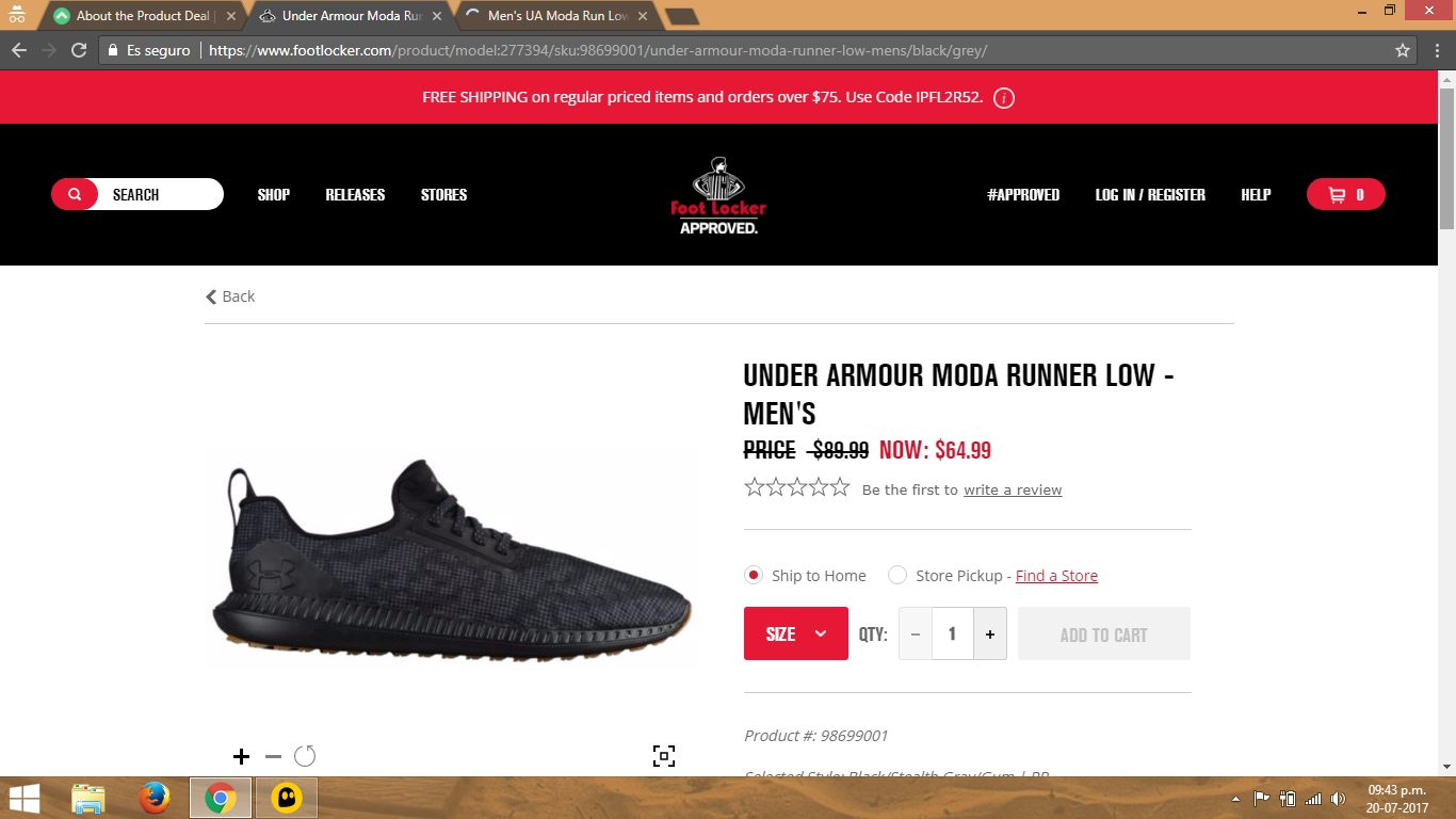 Under armour shoes coupon code