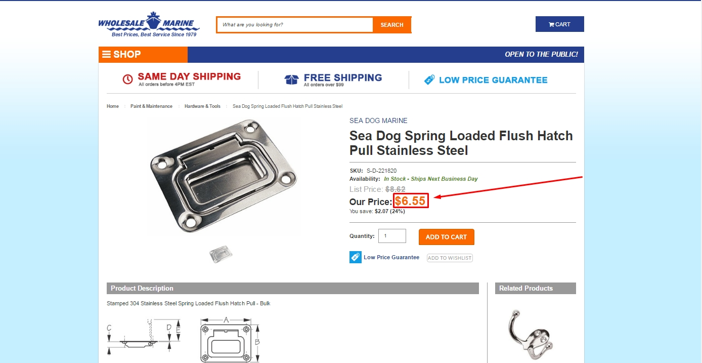 Eastern marine coupon code