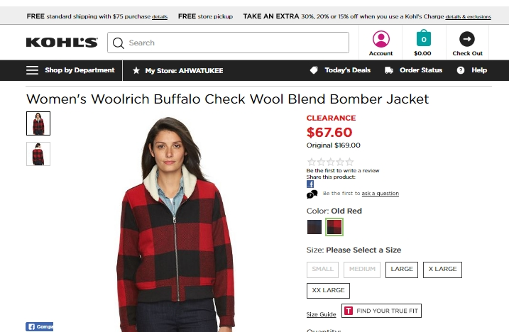 Woolrich coupon code
