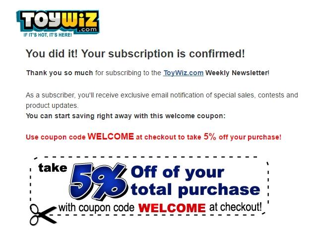 Toywiz coupon code
