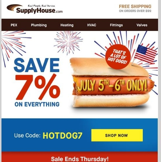 Supplyhouse coupon code