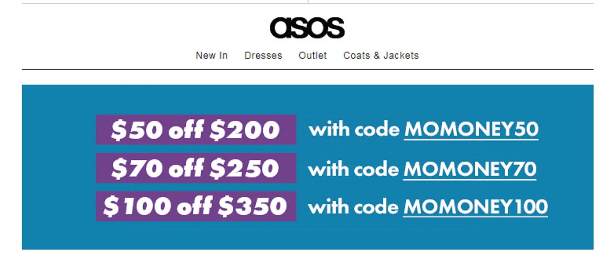 Asos coupon code reddit