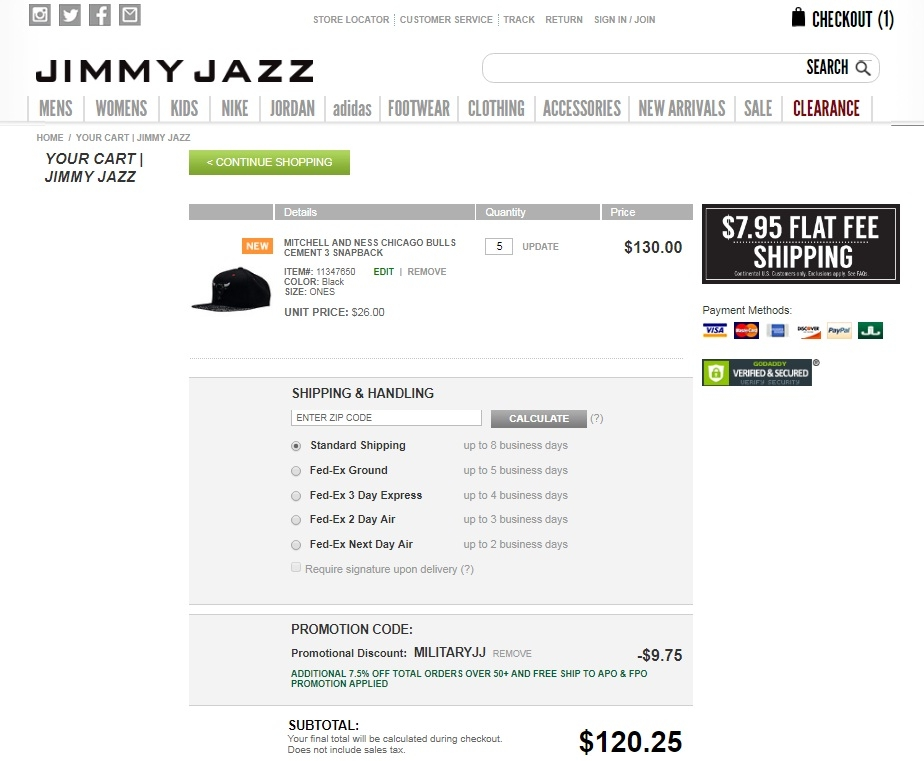 Jimmy jazz coupons 2018
