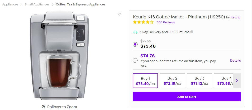 Keurig Coffee Maker Black Friday Deals 2015 : Keurig Coffee Coupon Code Mega Deals and Coupons