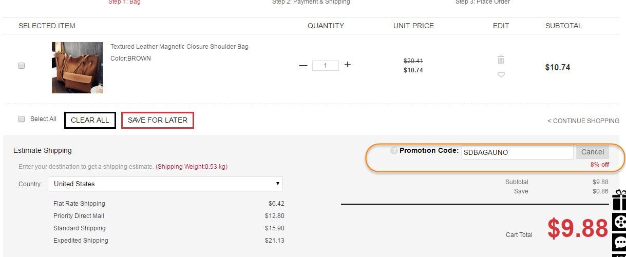 Sammydress coupon code free shipping