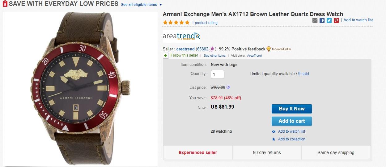 Armani exchange coupon code
