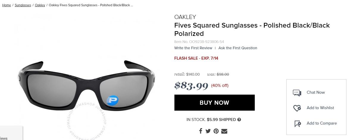 oakley glasses promo code