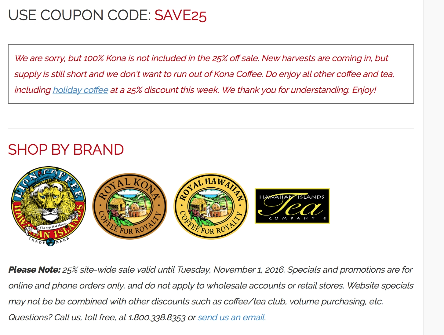 About Hawaii Coffee Company. There are 11 fantastic Hawaii Coffee Company money-off offers currently available at interactivebest.ml, including 7 promo codes and 4 deals. Enjoy amazing 30% Off savings by using these Hawaii Coffee Company coupon codes and promotions this December.