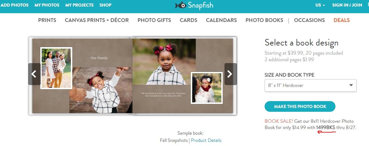 60 off snapfish coupon code 2017 snapfish code dealspotr for Snap fish promo code