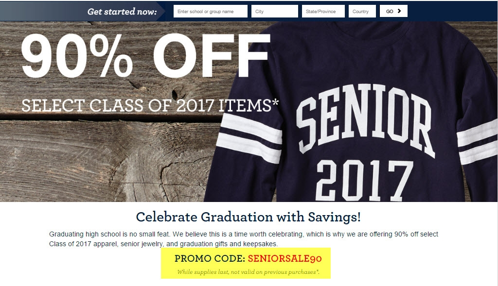 Jostens coupon code 2018