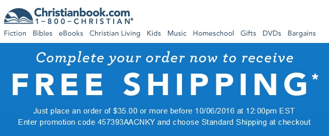 Christianbook coupon code free shipping : Ebay deals ph Christianbook.com Coupon Code