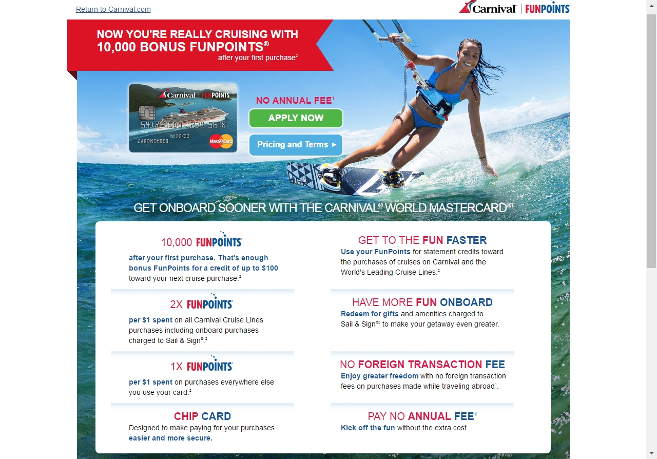 Coupon codes for carnival cruises 2018