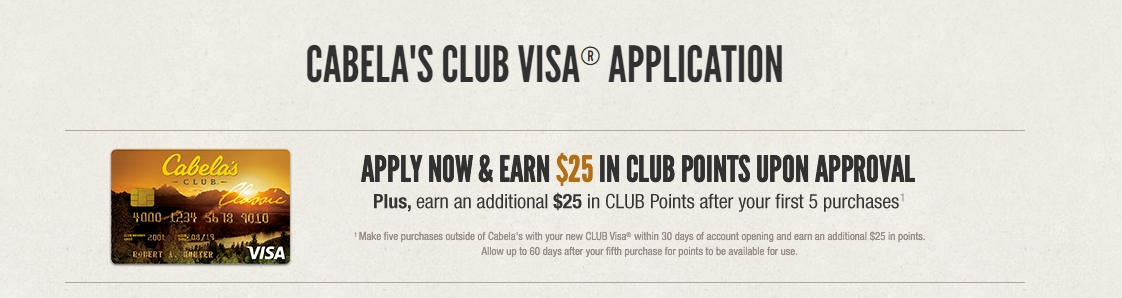 Cabela's online coupons