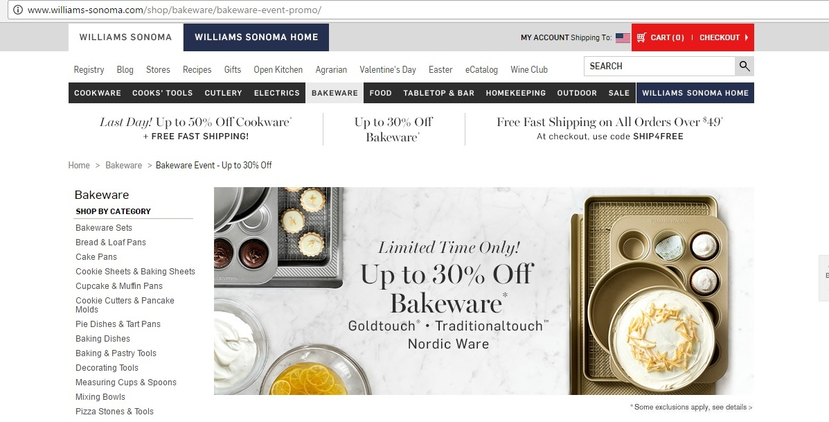 image regarding Williams Sonoma Coupons Printable known as William sonoma coupon codes february 2018 - Kohls coupon codes july 2018