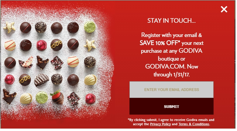 Godiva cyber monday deals