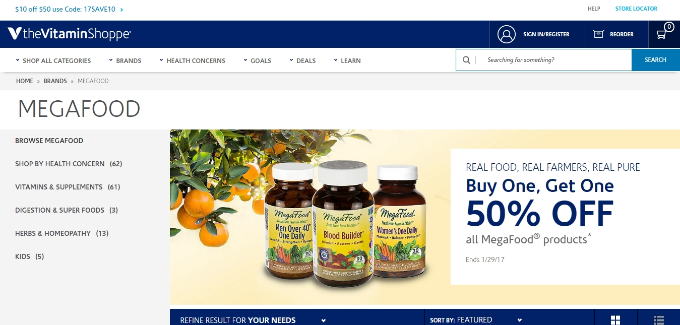 Vitamin shoppe coupon code