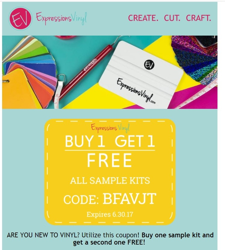 Expressions vinyl coupons