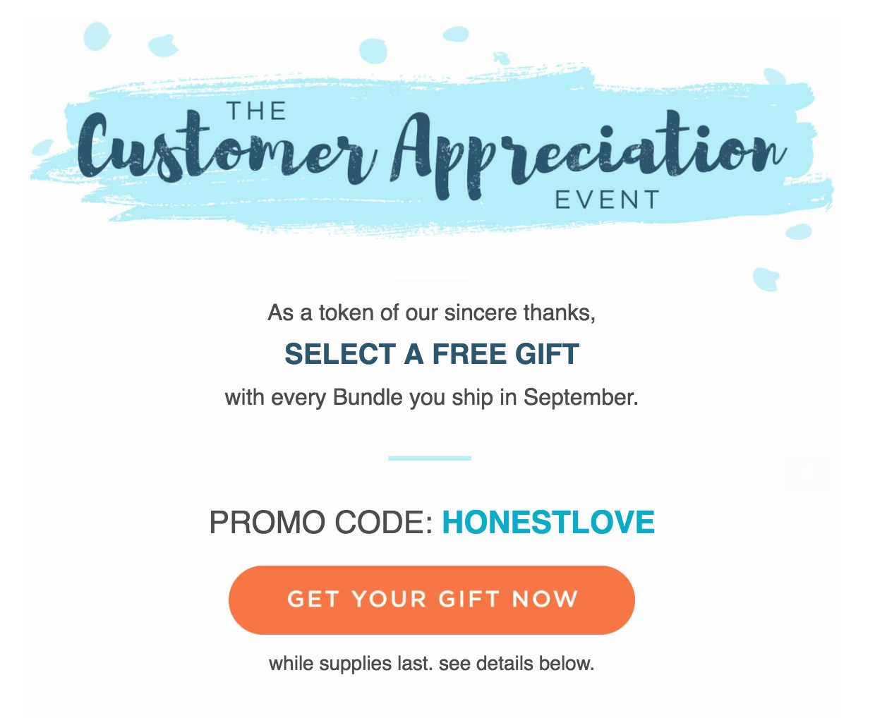 Honest coupon code