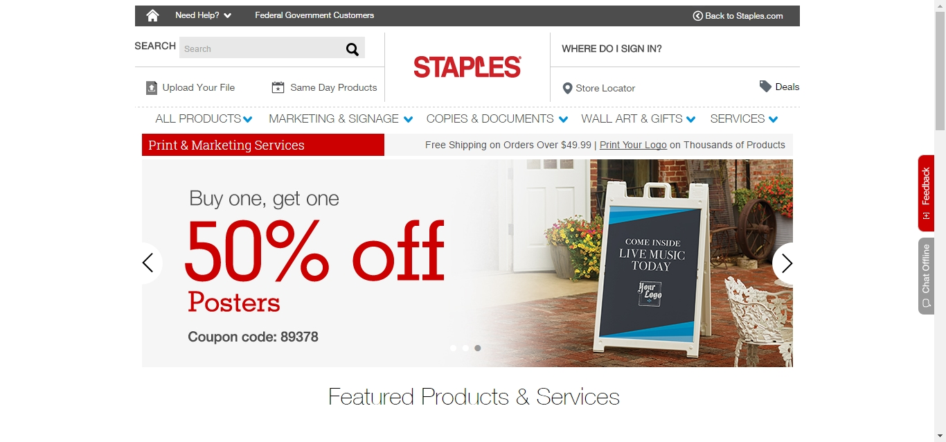 About Staples. Staples is a leading office supply store offering products and services necessary for running just about any business. Featuring thousands of brand names and their own label, staffray.ml provides you with easy access to everything from copier paper to janitorial supplies to office furniture.