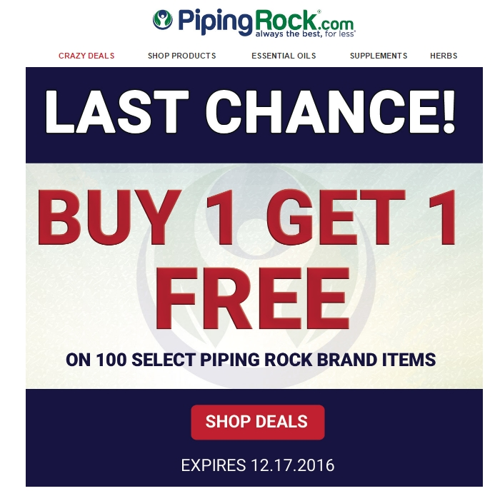 Piping rock coupon code