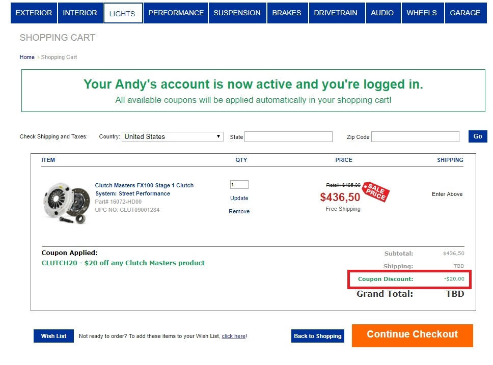 Shop and save with our Andys Auto Sport coupons, promo codes and deals. Find all of the secret coupons and promo codes for rythloarubbpo.ml Popular Searches: Flowers, JCPenney, Kohls, rythloarubbpo.ml, Target/5(31).