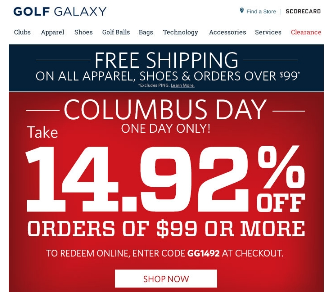 Top golf coupon code