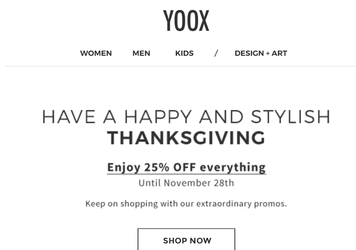 Yoox discount coupon