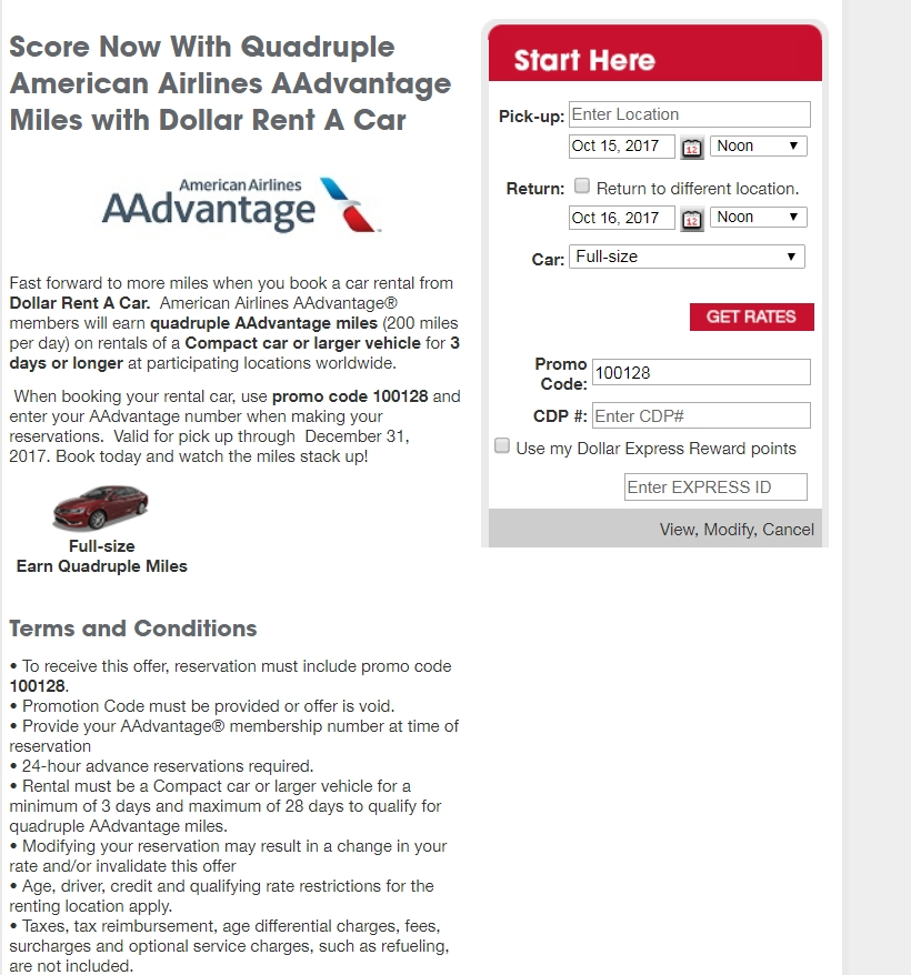 Advantage Car Rental Promo Code May
