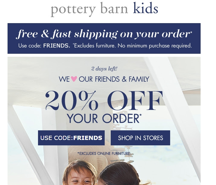 Naturally, with a name like Pottery Barn, the tabletop selection has to be superb. Find great pieces that go with any style, and choose from a wide selection of dinnerware, flatware, and glassware, and get it for less with a Pottery Barn coupon. Pottery Barn also has a popular wedding registry/5(7).