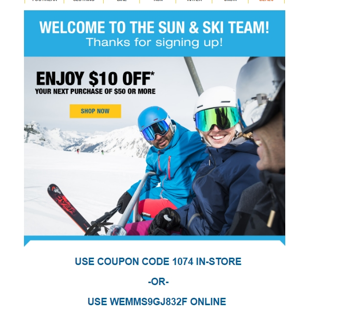 Get exclusive dionsnowmobilevalues.ml coupon codes & discounts when you join the dionsnowmobilevalues.ml email list Ends Dec. 31, Get geared up for the great outdoors by shopping for essential equipment and apparel at dionsnowmobilevalues.ml Email list members are saving a fortune with marked-down prices on top-quality ski boots, pullover jackets and snowboards.
