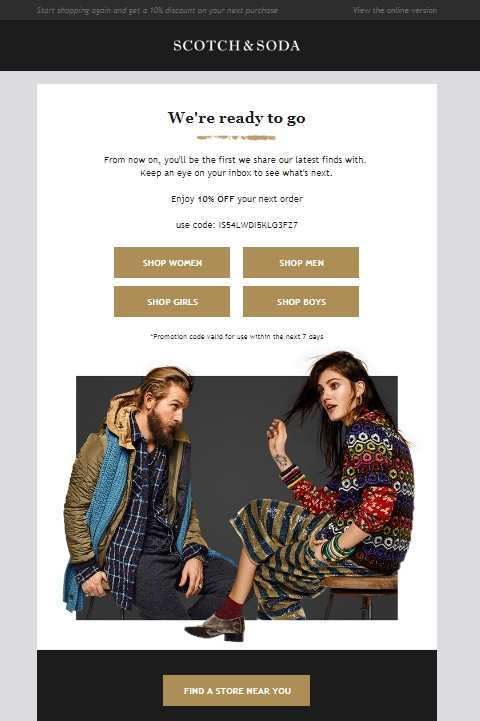 We have 50 bedtpulriosimp.cf Coupon Codes as of December Grab a free coupons and save money. The Latest Deal is 20% Off + Clearance @ Scotch & Soda Coupon.