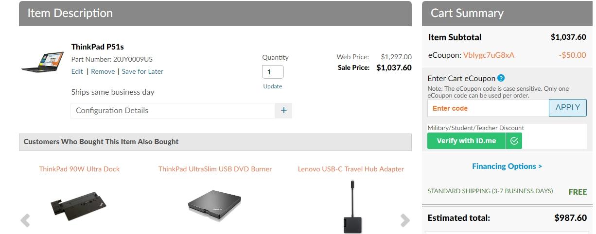 Lenovo outlet coupon code 2018