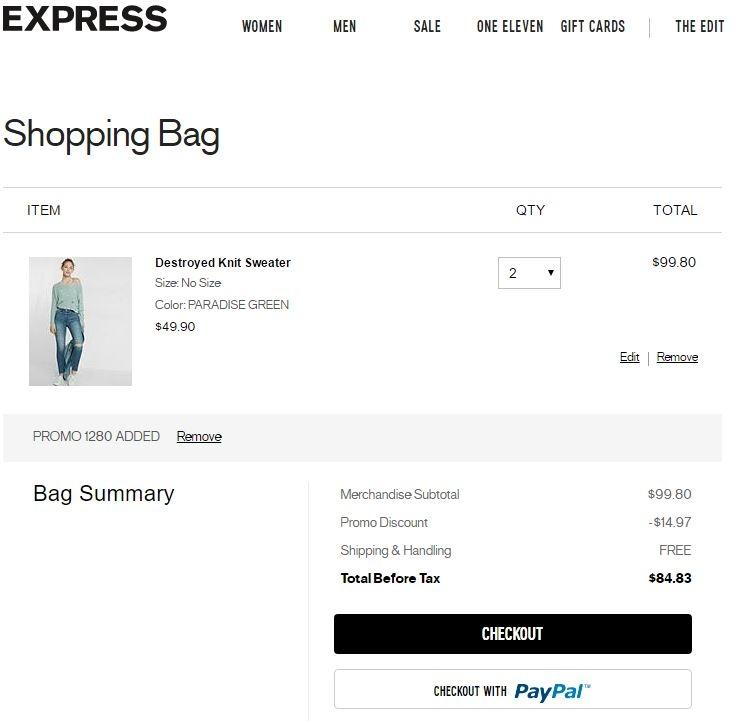 30 express coupon