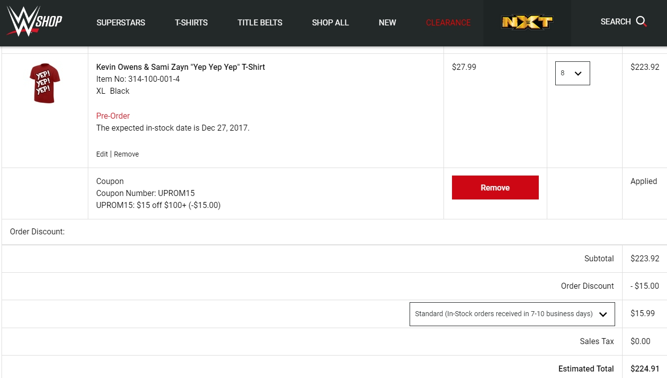 Wwe website coupons