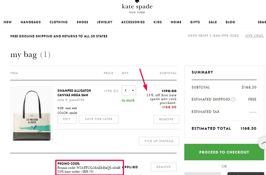 In order to save the most money when shopping at Kate Spade, sign up for Kate Spade coupon alerts through DealsPlus. Simply provide your email address, and in turn, you will receive up to 25% off coupons and promo codes several times a year.