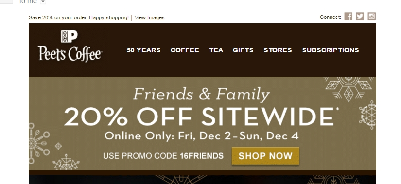 About Peet's Coffee & Tea. Peets is a premier specialty coffee and tea company, offering top-notch quality coffees and teas from the best quality coffee beans and tea leaves in the world.