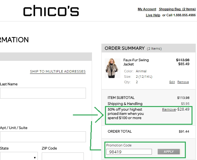 Chicos 25 off 100 coupon code