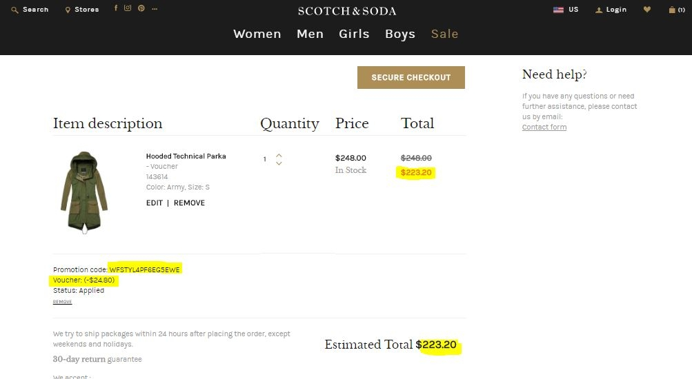 Scotch & Soda Clothes, Shoes, & Jewelry - DesignerApparel.